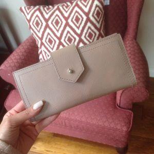 Madewell Post Wallet in Violet Dusk